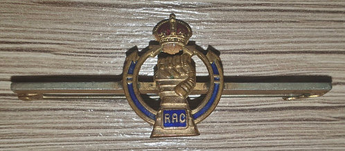 WW2 Royal Armoured Corps sweetheart brooch