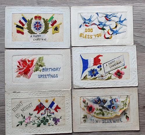 Selection WW1 postcards