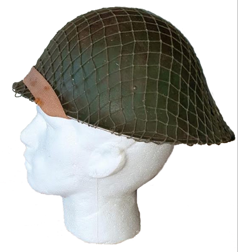 WW2 dated British mk3 turtle helmet