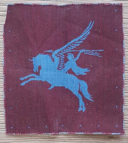 Original WW2  printed Pegasus sleeve patch