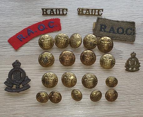 WW2 Royal army ordinance Corp group
