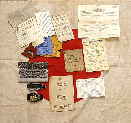 WW2 collection to one man