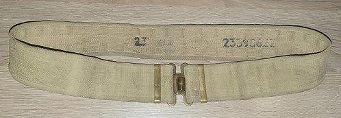 37 pattern web belt.