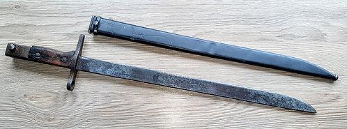 Rare late war Japanese arisaka bayonet.