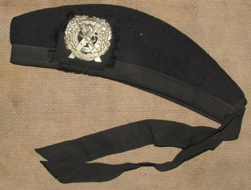 WW2 Period London Scottish Glengarry Cap