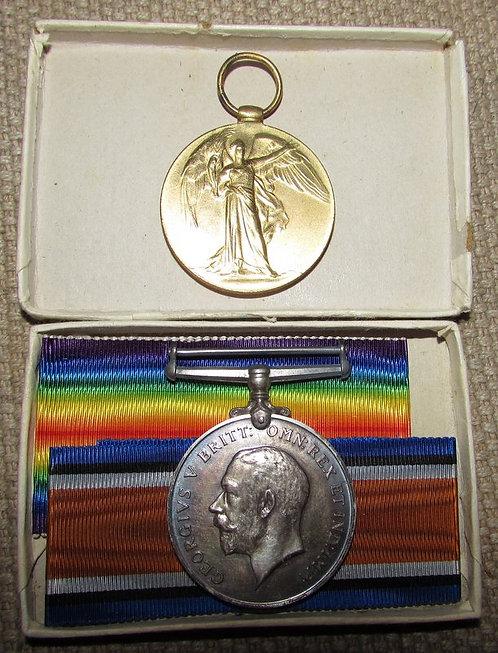 Lpool Rifles medal pair unworn loads of ephemera.