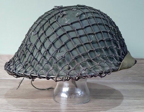 Korean war British mk4 helmet