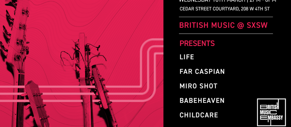 Far Caspian confirmed for British Embassy stage at SXSW 2020