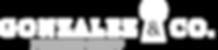 Gonzalez & Company - Large Logo - white