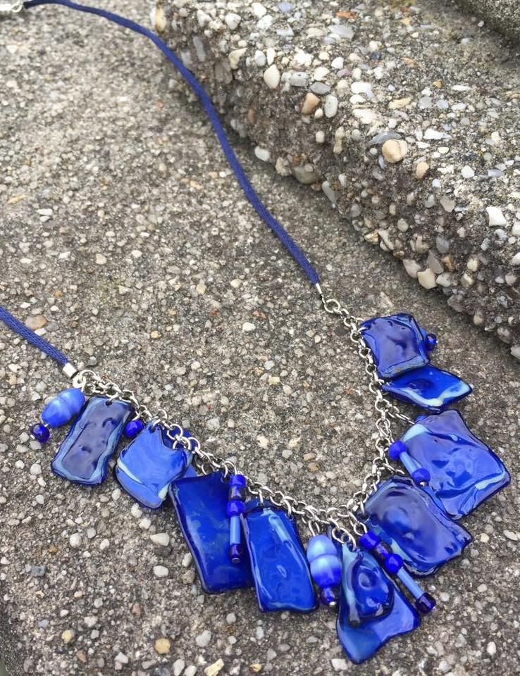 Plastic bottle pendants