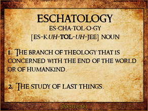 Eschatology: The People of God