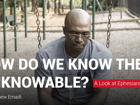 How do we know the unknowable?