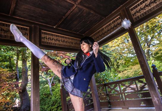 Gogo Yubari cosplay 2020
