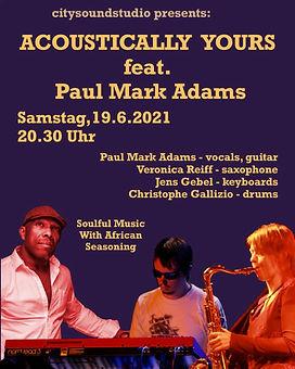 Concert at Citysound Studios feat. paulmarkadams