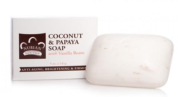 Coconut and Papaya Soap