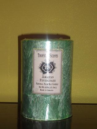 Jamaican Fever Grass Wax Candle