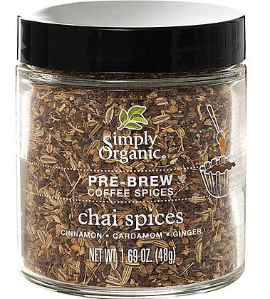 Simply Organic Coffee Chai Spices