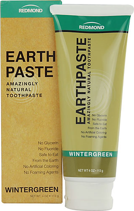 Redmond Earthpaste Natural Toothpaste Wintergreen