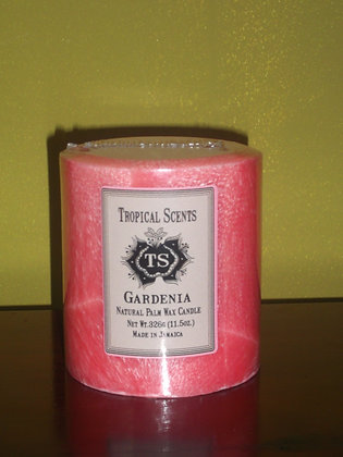 Gardenia Palm Wax Scented Candle