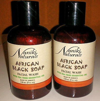 African Black Soap Facial Wash