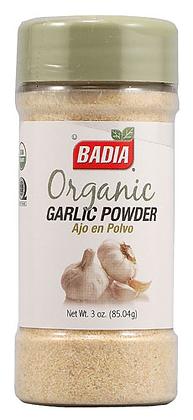 Badia Garlic Powder Organic