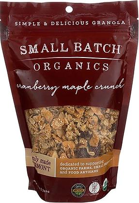 Small Batch Organics Cranberry Maple Granola