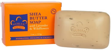 Shea Butter and Lavender Soap