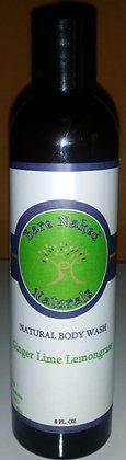 BNN Ginger Lime Lemongrass Body Wash 8 oz