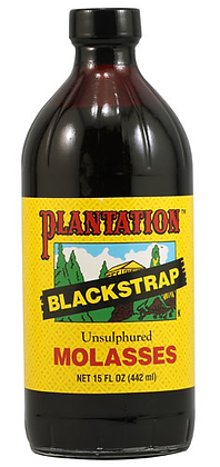 Plantation Blackstrap Molasses Unsulphured 16 oz