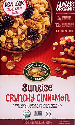 Nature's Path Organic Crunchy Cinnamon