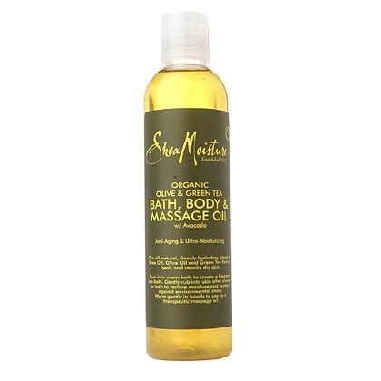 SM Bath Body & Massage Oil Olive & Green