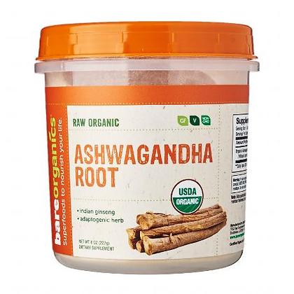 BareOrganics Ashwagandha Root Powder Raw
