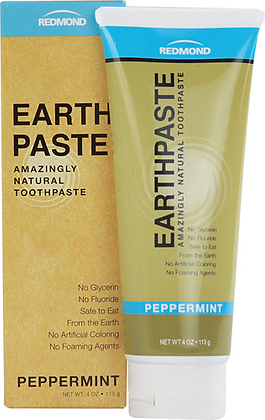 Redmond Earthpaste Natural Toothpaste Peppermint