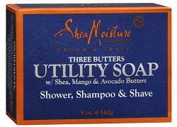 Shea Moisture Groom & Shave Three Butters Utility