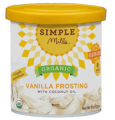 Simple Mills Vanilla Frosting (Vegan)