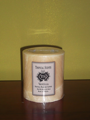 Vanilla Palm Wax Candle