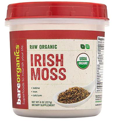 BareOrganics Irish Moss Powder Raw