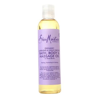 SM Bath Body & Massage Oil Lavender &