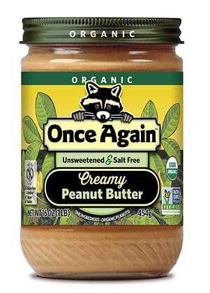 Once Again Peanut Butter Organic