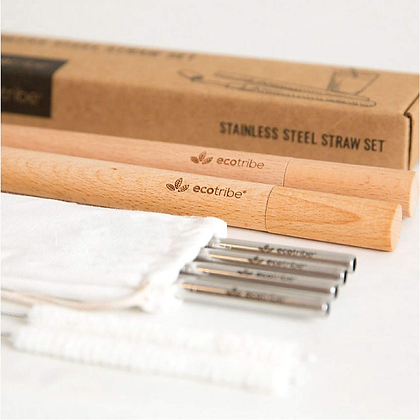 Ecotribe Metal Straws