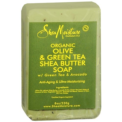 Shea Moisture Olive & Green Tea Bar Soap
