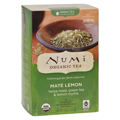 NUMI Mate Lemon Tea Bag