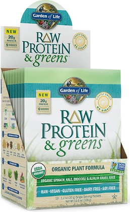 GOL Protein and Greens Singles