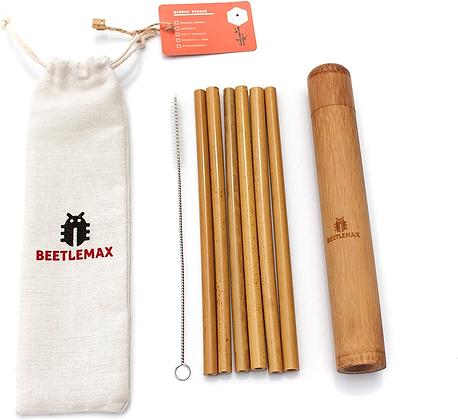 Beetlemax Bamboo Straws