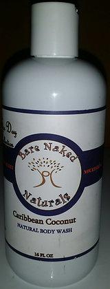 BNN Caribbean Coconut Body Wash 12 oz