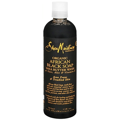 SM Organic African Black Soap Body Wash