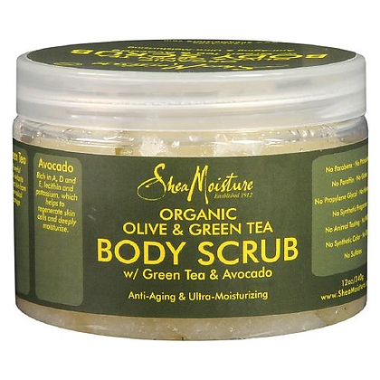 SM Body Scrub Olive & Green Tea