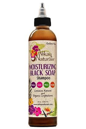Moisturizing Black Soap Shampoo 8 oz