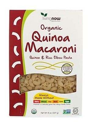 Living Now Organic  Quinoa Macaroni