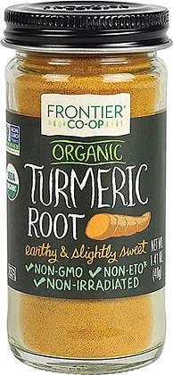 Frontier Co-Op Organic Turmeric Root Ground